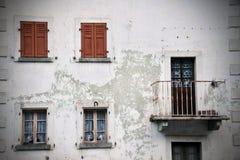 Apartamento viejo Fotografía de archivo