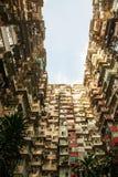 Apartamento viejo en Hong Kong, parte de la escena del tranformer Fotos de archivo