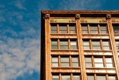 Apartamento y cielo Imagen de archivo