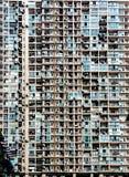 Apartamentos apretados Fotografía de archivo libre de regalías