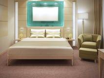 Apartamentos bonitos do hotel Fotos de Stock Royalty Free