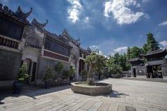 Apartamentos chineses antigos do jardim Fotos de Stock Royalty Free