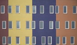 Apartamentos coloreados multi 5 fotografía de archivo libre de regalías