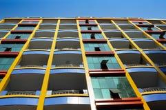 Apartamentos coloridos Fotos de Stock Royalty Free
