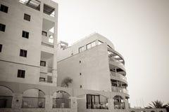 Apartamentos costeros en Israel Ashkelon Imagenes de archivo