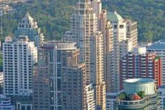 Apartamentos da cidade Foto de Stock Royalty Free