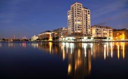 Apartamentos da torre do milênio Fotografia de Stock Royalty Free