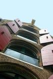 Apartamentos de Amsterdam imagen de archivo libre de regalías