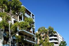Apartamentos de Highrise Fotografia de Stock Royalty Free