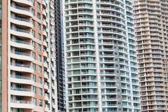 Apartamentos de Highrise, Brisbane, Australia foto de archivo libre de regalías