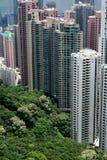 Apartamentos de Hong-Kong Imagen de archivo libre de regalías
