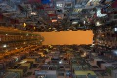 Apartamentos de Hong-Kong imágenes de archivo libres de regalías