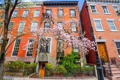 Apartamentos de la primavera imagen de archivo
