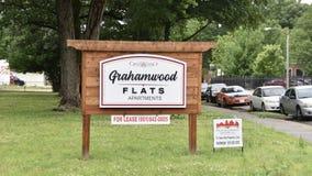 Apartamentos de los planos de Grahamwood, Memphis, TN imagen de archivo