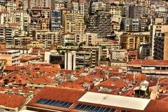 Apartamentos de Mônaco HDR Foto de Stock