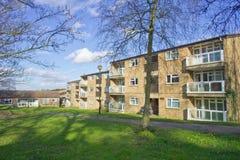 Apartamentos de Norwich Foto de Stock Royalty Free