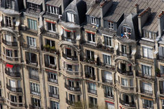 Apartamentos de Paris Imagem de Stock Royalty Free