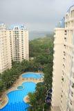 Apartamentos de Singapore Fotografia de Stock Royalty Free