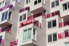 Apartamentos de Zuidas en Amsterdam Zuidas Fotografía de archivo