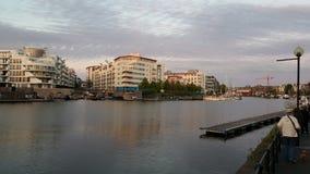 Apartamentos del área de embarque Fotos de archivo