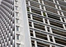Apartamentos del Brutalist en Milano Fotos de archivo
