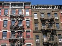 Apartamentos del estilo de la vivienda, New York City Imagen de archivo