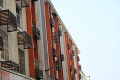 Apartamentos do céu azul Imagens de Stock Royalty Free