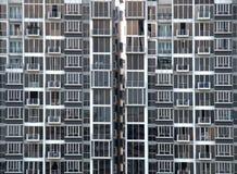 Apartamentos elevados da ascensão imagem de stock royalty free