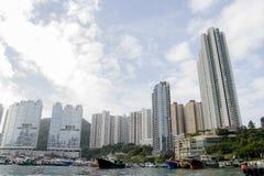 Apartamentos elevados da ascensão Imagens de Stock
