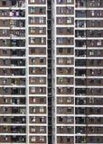 Apartamentos elevados da ascensão em Hong Kong Fotografia de Stock