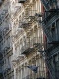 Apartamentos em New York City Imagens de Stock
