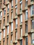 Apartamentos en Barcelona foto de archivo libre de regalías