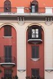 Apartamentos en el centro de ciudad imagen de archivo libre de regalías