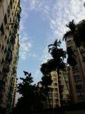 Apartamentos en Hollywood Imagen de archivo libre de regalías
