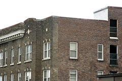 Apartamentos en la ciudad Imágenes de archivo libres de regalías