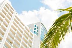 Apartamentos en la playa Playa Bonita Panamá Imagen de archivo libre de regalías
