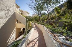 Apartamentos en Santa Pola Fotos de archivo libres de regalías