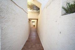 Apartamentos en Santa Pola Imagen de archivo libre de regalías
