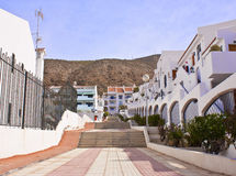 Apartamentos en Tenerife fotografía de archivo libre de regalías