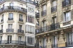 Apartamentos franceses elegantes Fotografía de archivo libre de regalías