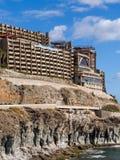 Apartamentos Gran Canaria España del hotel del día de fiesta Fotografía de archivo libre de regalías