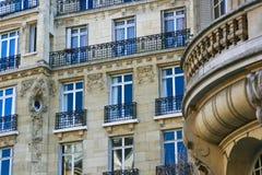 Apartamentos hermosos en París Francia Fotografía de archivo libre de regalías
