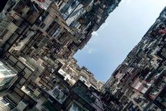Apartamentos - Hong Kong Imagen de archivo libre de regalías