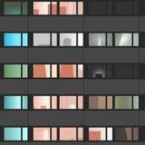 Apartamentos lisos Fotografia de Stock
