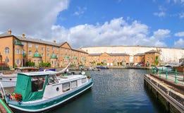 Apartamentos luxuosos em Brighton Marina Imagens de Stock