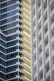 Apartamentos, Miami Fotografia de Stock Royalty Free