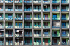 Apartamentos Milão Imagem de Stock