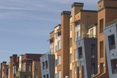 Apartamentos modernos 1 foto de archivo libre de regalías