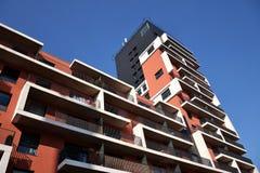 Apartamentos modernos Fotografia de Stock