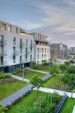 Apartamentos modernos foto de archivo